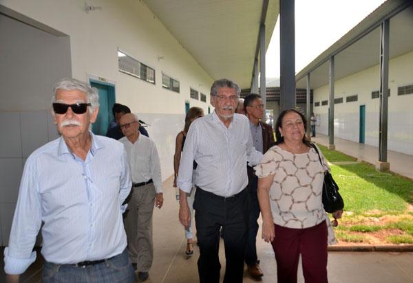 Em visita às Escolas em Tempo Integral, prefeitos de Conquista e Tanhaçu fazem exaltação à Educação de Brumado