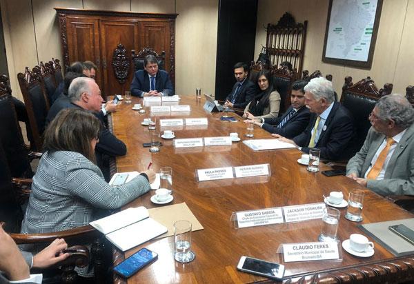 Prefeito de Brumado participa de reunião no Ministério da Infraestrutura