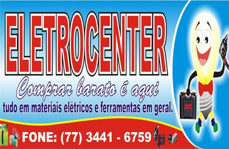ELETROCENTER 3 ANOS DE CREDIBILIDADE