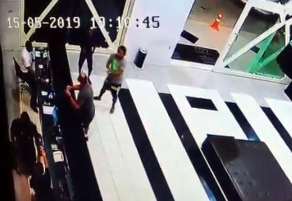 Salvador: livramentense é atingido por tiro durante assalto em hotel; veja as imagens