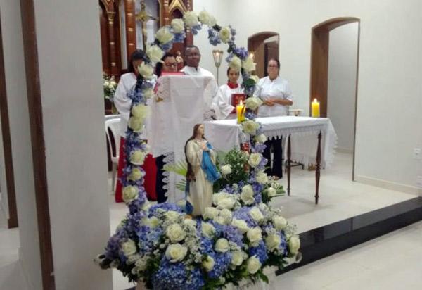 Brumado: comunidade católica celebra festa da Imaculada Conceição