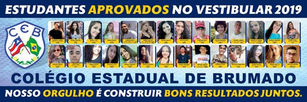 Brumado: CEB homenageia alunos que passaram no vestibular