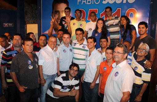 Eleições 2014: Com o apoio de importantes lideranças Fábio Souto inaugura comitê em Brumado