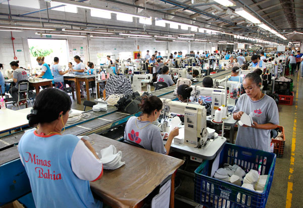 Indústria baiana gera 31.323 mil empregos de janeiro a agosto de 2021