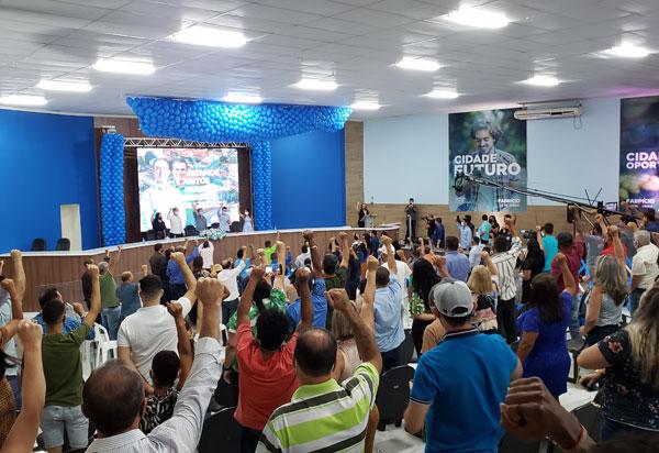 Brumado: Convenção oficializou as candidaturas de Fabrício Abrantes à prefeito e Aurino Rocha vice-prefeito