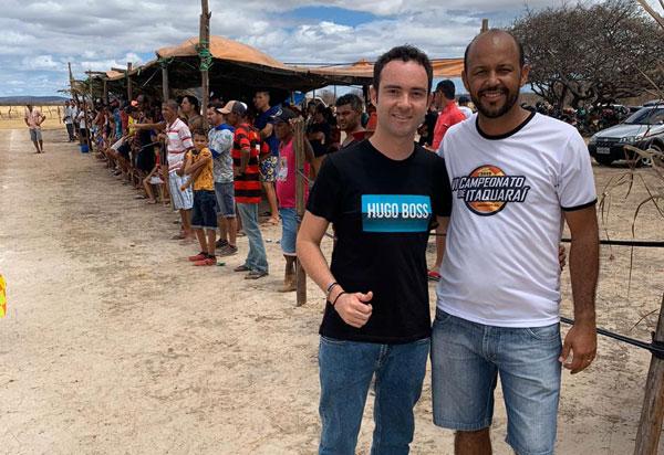 Vereador parabeniza empresário Fabrício Abrantes, da A4 Veiculos, pelo apoio ao esporte em Brumado