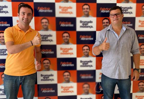Vereador Rey de Domingão é o mais novo apoiador de Fabrício Abrantes em Brumado