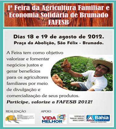 ASSOCIAÇÃO MAÇARANDUBA REALIZA A 1ª FAFESB 2012