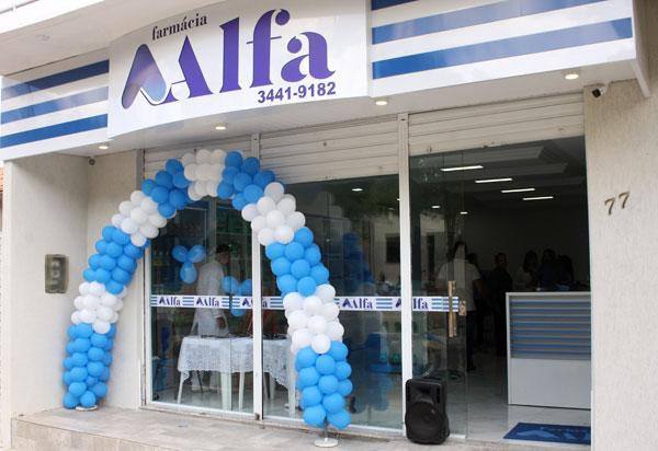 Brumado: inaugurada no bairro São Félix a Farmácia Alfa
