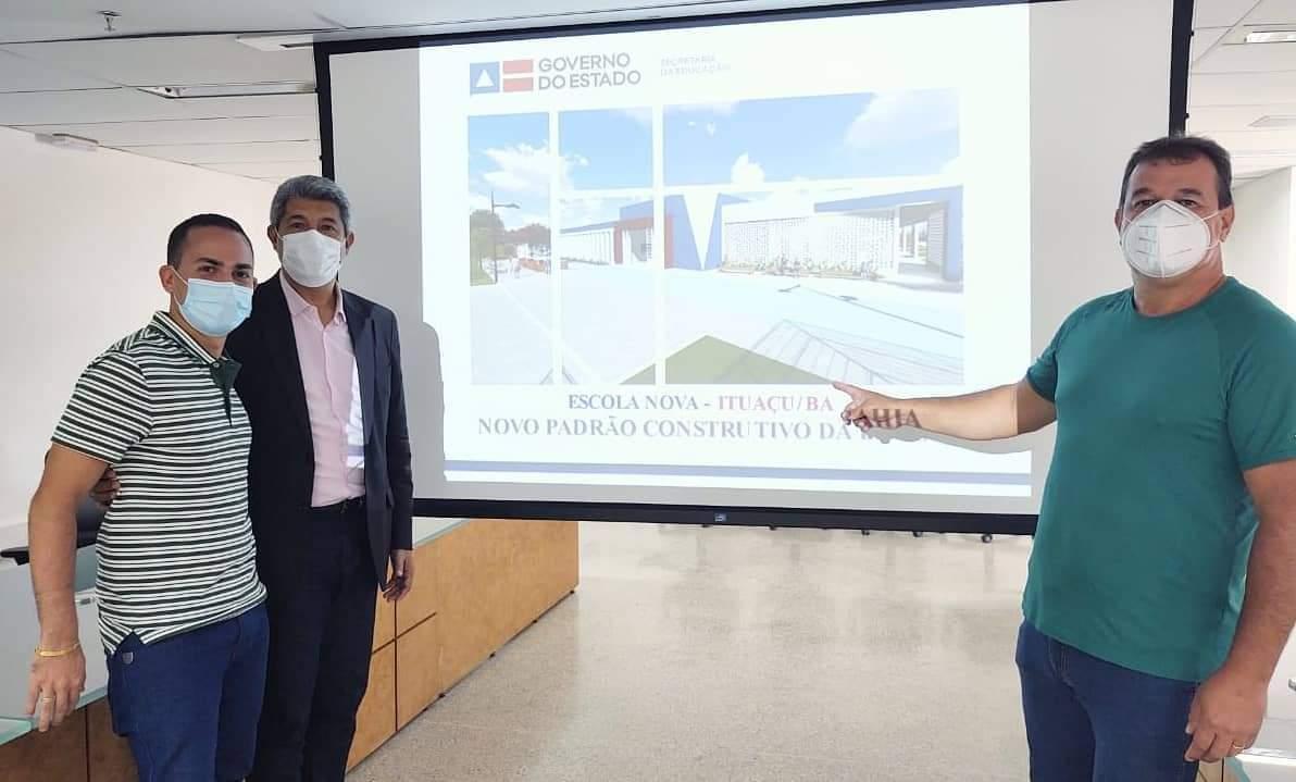 Deputado Marquinho Viana confirma escola estadual com 10 salas em Ituaçu