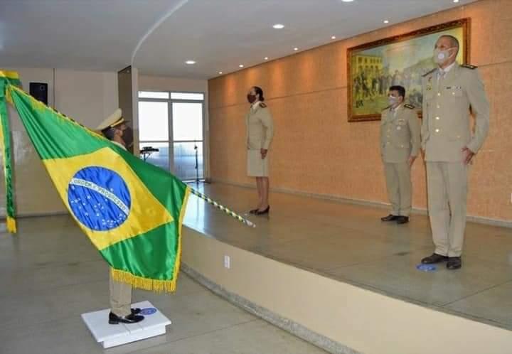 Major Leila transmitiu comando da 2ª CIPRv/Brumado ao Major David Rocha
