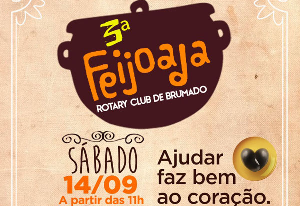 Brumado: participe da 3ª Feijoada beneficente do Rotary Club