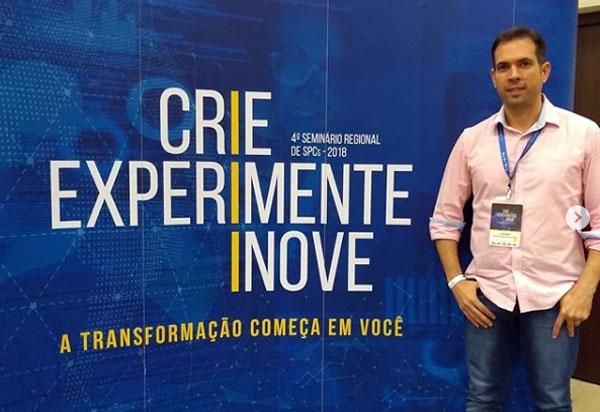 Gerente da CDL de Brumado participou do Seminário Regional de SPCs 2018