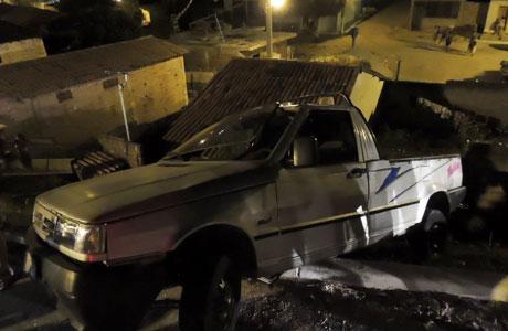 Brumado: Grave acidente na Avenida Coronel Santos