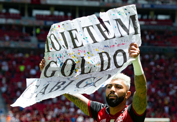 Flamengo vence o Athletico-PR por 3 a 0 e conquista a Supercopa do Brasil