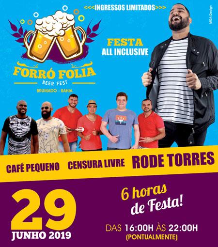 Forró Folia - Beer Fest: seis horas de festa all inclusive