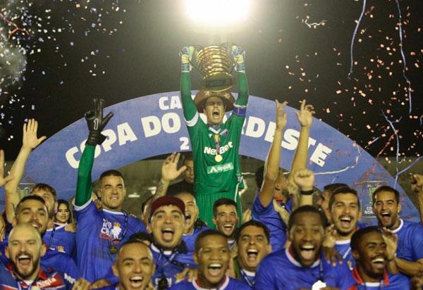 Fortaleza conquista título inédito da Copa do Nordeste
