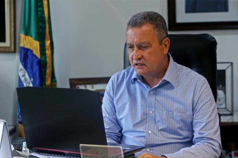 Rui Costa diz que  Bahia atingiu um platô de contaminação do coronavírus