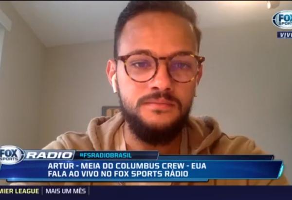 Brumadense do Columbus Crew da MSL nos EUA, conta como o coronavírus paralisou liga de futebol americana