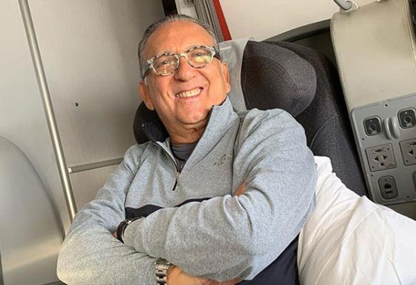 Em Lima, Galvão Bueno sente mal-estar e é levado a hospital; Luis Roberto vai narrar a final da Libertadores