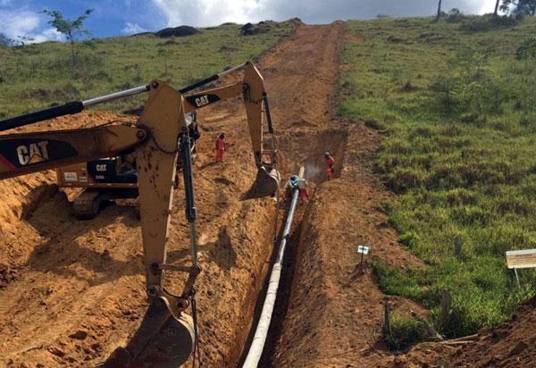 Bahiagás: Obras do Gás Sudoeste que chegará em Brumado seguem de vento em popa