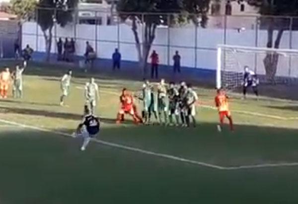Intermunicipal:  com golaço do goleiro Rahi, Brumado vence Itororó por 3x0
