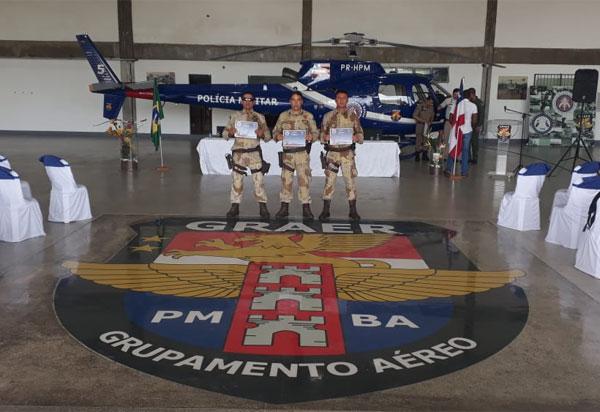 GRAER forma operadores de aeronave remotamente pilotada da Caesg