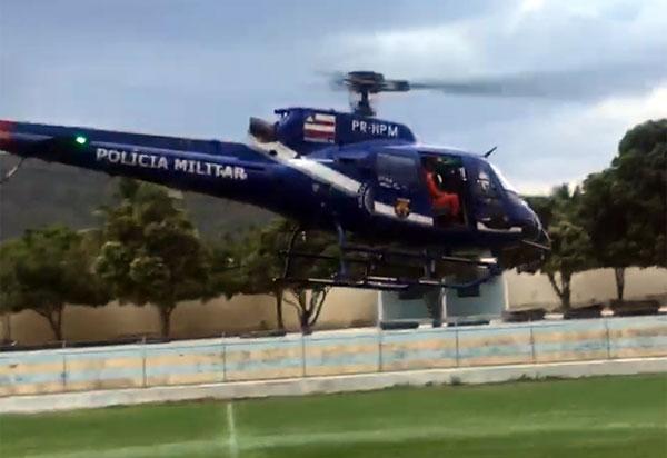 Aeronaves são enviadas para ajudar bombeiros e brigadistas voluntários a combater incêndio em Livramento e Rio de Contas