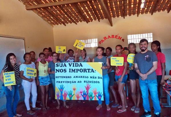 Aracatu: Cras realiza ações com tema voltado a valorização da vida