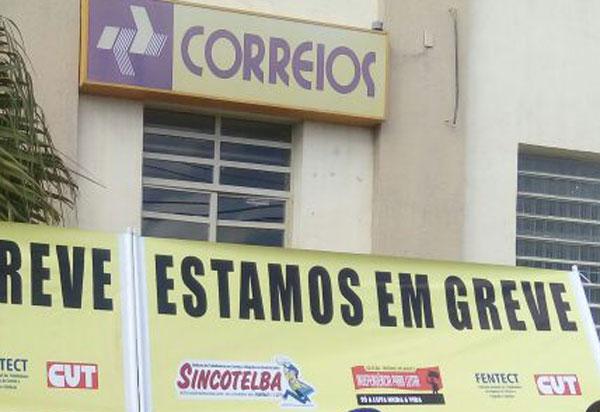 Brumado: funcionários dos Correios aderem á greve nacional