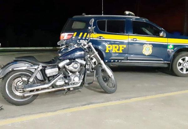 Em Vitória da Conquista (BA), empresário é detido com Harley Davidson furtada no estado de São Paulo