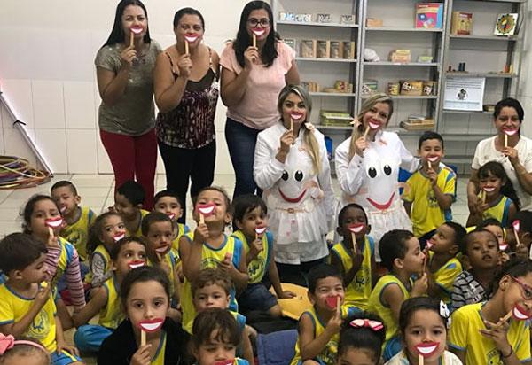 Brumado: palestra sobre cuidados de Higiene Bucal foi realizada na Escola Municipal Élcio José Trigueiro