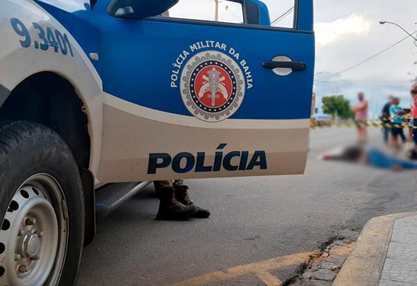Brumado: Jovem foi morto a tiros na Avenida Antônio Mourão Guimarães