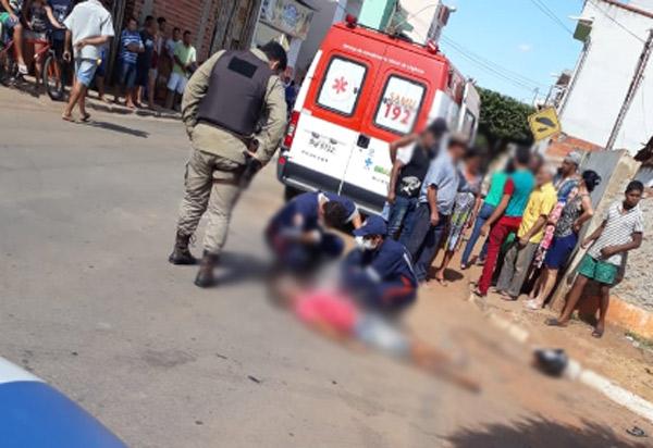 Caetité: homem foi morto à tiros em avenida do Bairro Pedro Cruz