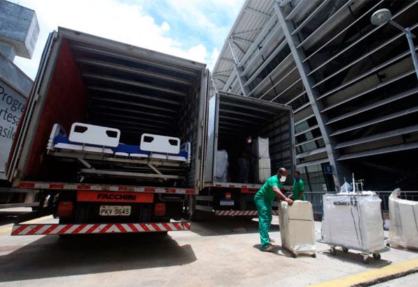 Hospital da Arena Fonte Nova é desmobilizado após atender 2.840 pacientes