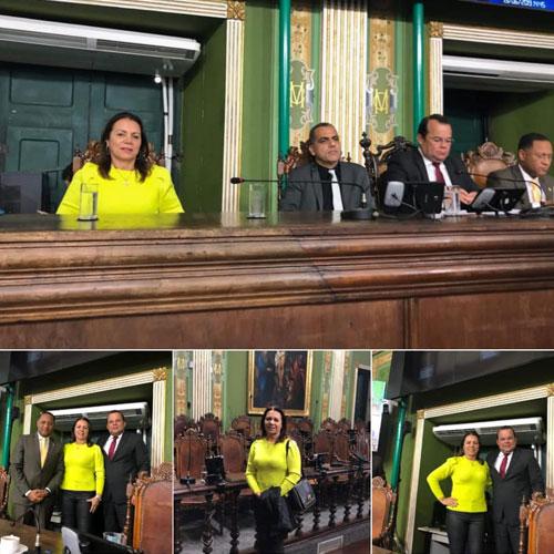 Vereadora Ilka Abreu visitou a Câmara de Vereadores de Salvador