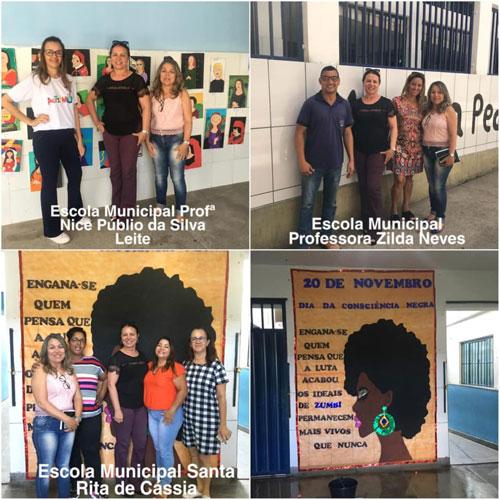 Brumado: em visita a escolas municipais, vereadora Ilka Abreu parabeniza gestão municipal pelo trabalho realizado