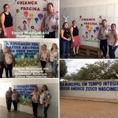 Brumado: vereadora Ilka Abreu visita escolas municipais na zona rural