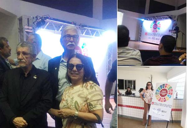 Brumado: vereadora Ilka Abreu participou do lançamento da Adesão à Agenda 2030/ODS