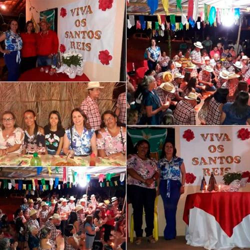 Brumado: Vereadora Ilka Abreu participa de festa de Reis na Comunidade de Extrema