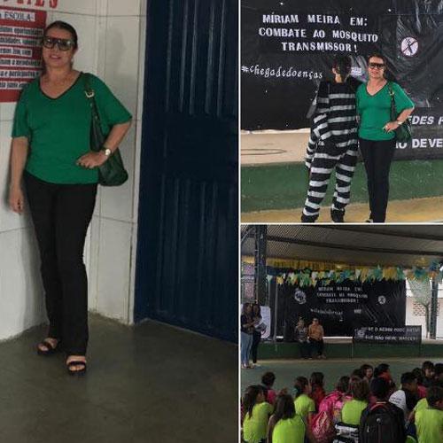 Brumado: vereadora Ilka Abreu visita escolas em Lagoa Funda e Itaquaraí