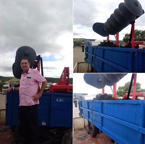 Brumado: vereadora Ilka Abreu conquista implementos agrícolas para a Comunidade Comunidade de Tibiraba e adjacências