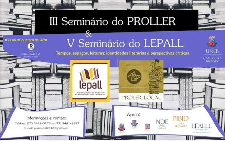 Uneb: Seminário em Brumado discute 'Tempos, espaços, leituras: identidades literárias e perspectivas críticas'