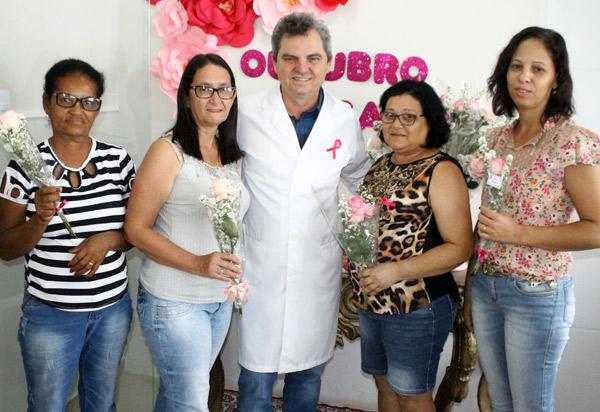 Instituto de Mastologia e Mamografia de Brumado realizou 'Dia D' da campanha Outubro Rosa
