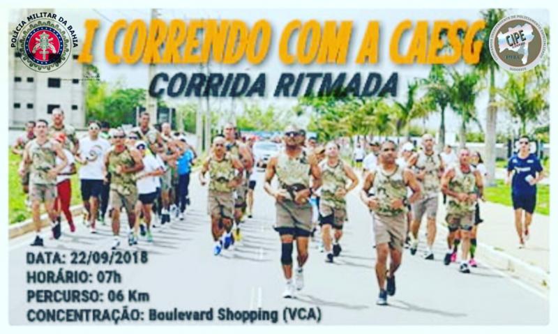 CipeSudoeste celebrará 14° aniversário de instalação com 'Corrida Ritmada - Correndo com a Caesg', em Vitória da Conquista