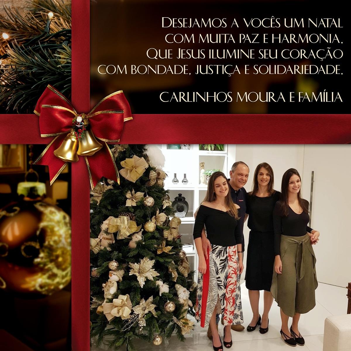 Carlinhos Moura deseja em Feliz Natal a todos os brumadenses