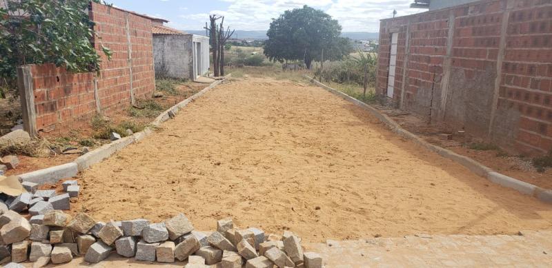 Construmendes: obras de pavimentação no município de Lagoa real chegam a 85% de conclusão