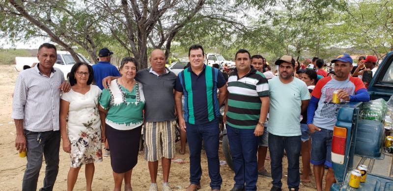 Barra da Estiva: Deputado Marquinho Viana participou da procissão em louvor a São Roque no povoado do Mintira/Passagem de Santana