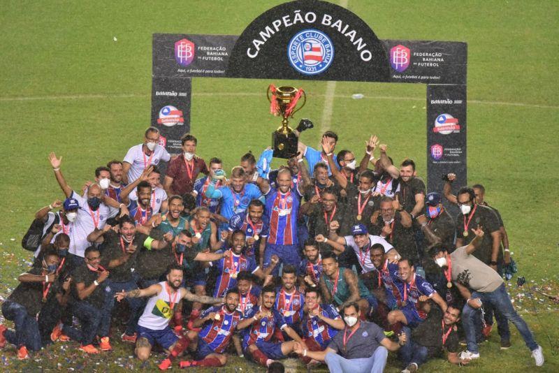 Nos pênaltis, Bahia vence Atlético de Alagoinhas e é campeão Baiano