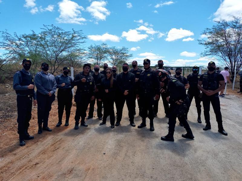 Grupo Queiroz 'Celta Segurança' atua em cerimônia de assinatura de contrato de concessão da FIOL I